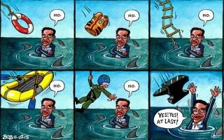 Το σκίτσο της Τelegraph για την Ελλάδα