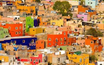 Μια βόλτα στις πιο 20 πιο πολύχρωμες πόλεις του κόσμου
