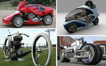 Οι πιο περίεργες μοτοσικλέτες που τρομοκράτησαν ποτέ τους δρόμους