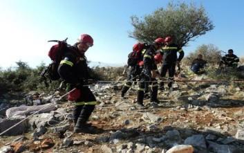 Επιτυχής επιχείρηση διάσωσης δύο ατόμων στο φαράγγι του Ενιπέα
