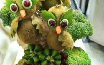 Να τι μπορεί να φτιάξεις κανείς με φρούτα