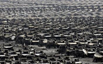 Εικόνες απόλυτης καταστροφής στην Κίνα