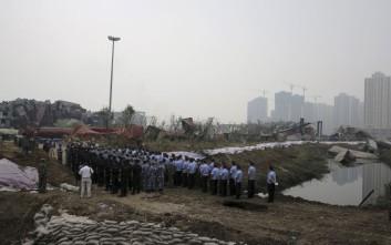 Χωρίς άδεια για διαχείριση επικίνδυνων υλικών η αποθήκη στην Κίνα