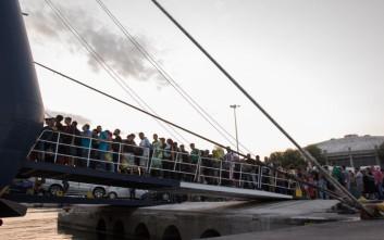 Λαοθάλασσα μεταναστών μέσα σε μία εβδομάδα