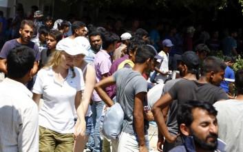Υπερδιπλάσιοι από τους κατοίκους οι μετανάστες στο Αγαθονήσι
