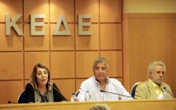 Ένταση στη συνεδρίαση της ΚΕΔΕ για το προσφυγικό