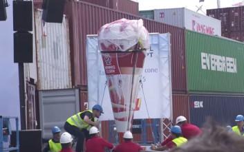 Το μεγαλύτερο παγωτό χωνάκι στον κόσμο