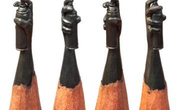 Λιλιπούτεια αριστουργήματα σε μύτες μολυβιών