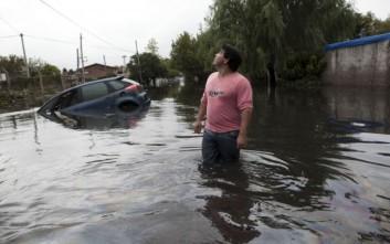 Τρεις νεκροί από τις πλημμύρες στην Αργεντινή