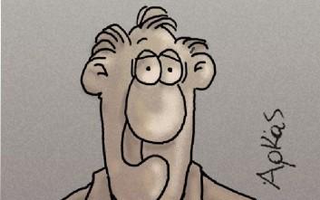 Το σκίτσο του Αρκά για τις εκλογές