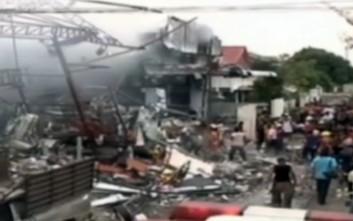 Έκρηξη σε εμπορικό κέντρο της Μπανγκόκ