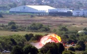 Τραγωδία με συντριβή αεροσκάφους στη Βρετανία