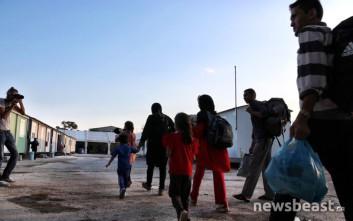 Η ζωή των προσφύγων στον Ελαιώνα