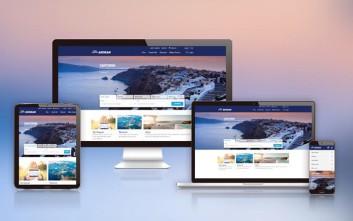 Το ανανεωμένο site της AEGEAN μάς καλεί να ταξιδέψουμε