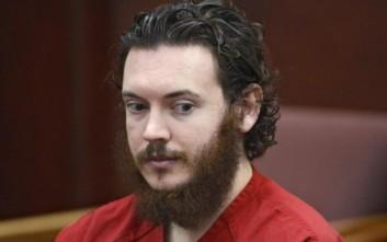 Ισόβια κάθειρξη για το μακελειό σε σινεμά του Κολοράντο