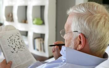 Νέα μελέτη για τα σταυρόλεξα και την άνοια