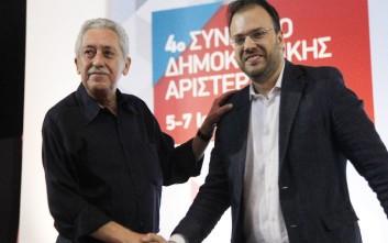 Κουβέλης και Θεοχαρόπουλος ερίζουν για τις συμμαχίες τις ΔΗΜΑΡ