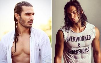 Σέξι άντρες με μακριά μαλλιά