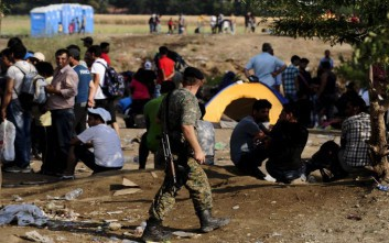 Σοκαριστική κακομεταχείριση προσφύγων από τις αρχές της ΠΓΔΜ