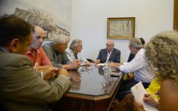 Συνάντηση Μεϊμαράκη με τα προεδρεία της ΠΟΑΣΥ και της ΠΟΑΞΙΑ