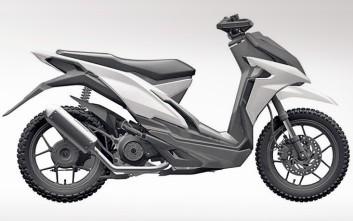 Σενάρια για... χωμάτινο scooter από τη Honda