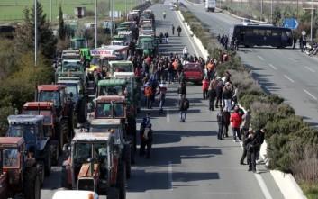 Αγροτικό συλλαλητήριο στον Ισθμό της Κορίνθου