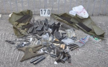 Βαρύς οπλισμός βρέθηκε σε σπίτι στην Πτολεμαΐδα