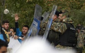 Επεισόδια με πρόσφυγες στην ουδέτερη ζώνη ΠΓΔΜ –Ελλάδας