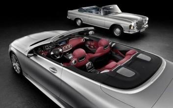 Νέα επίσημη φωτογραφία της S-Class Cabrio