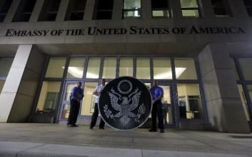 Η Ουάσινγκτον ετοιμάζεται να αποσύρει μέρος του προσωπικού της πρεσβείας στην Αβάνα