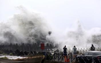 Φονικό το πέρασμα του τυφώνα Σουντελόρ στην Ταϊβάν