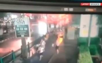 Βίντεο από τη στιγμή της έκρηξης στη Μπανγκόκ