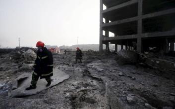 Έκρηξη σε εργοστάσιο χημικών στην ανατολική Κίνα