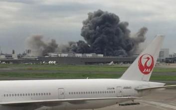 Μεγάλη φωτιά σε εργοστάσιο χαλυβουργίας στο Τόκιο