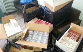 Συνελήφθησαν δύο αλλοδαποί για λαθρεμπόριο τσιγάρων