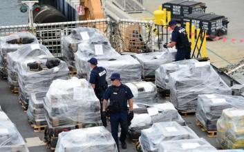 Κατασχέθηκαν 1,3 τόνοι κοκαΐνης σε ιταλικό πλοίο