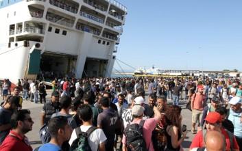 Στον Πειραιά 5.000 πρόσφυγες