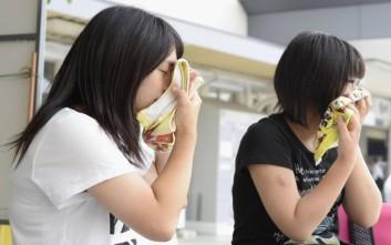 Νεκροί 32 Ιάπωνες από τον καύσωνα