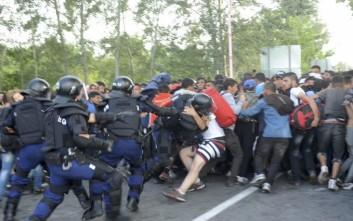 Η ουγγρική αστυνομία συνέλαβε μετανάστη «τρομοκράτη»