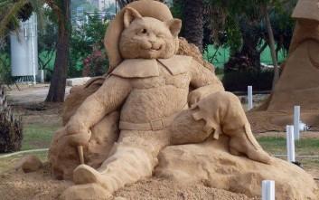 Γλυπτική στην άμμο