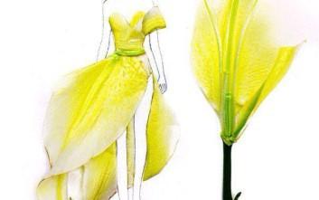 Όταν τα λουλούδια γίνονται φορέματα
