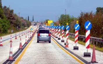 Κυκλοφοριακές ρυθμίσεις στην Ε.Ο. Κορίνθου-Πατρών