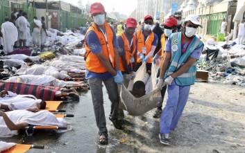 Πάνω από 1.633 οι νεκροί από το ποδοπάτημα της Μέκκα