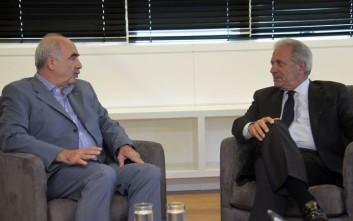 Μεϊμαράκης για Αβραμόπουλο: Ελληνικό κεφάλαιο για την Ευρώπη