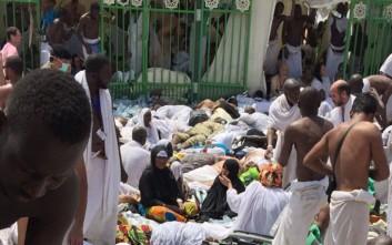 Έφτασαν τους 453 οι νεκροί στη Μέκκα