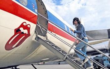 Θρυλικές μπάντες με τα ιδιωτικά τους αεροπλάνα