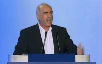 Δεν κατεβαίνει υποψήφιος για την προεδρία ο Μεϊμαράκης
