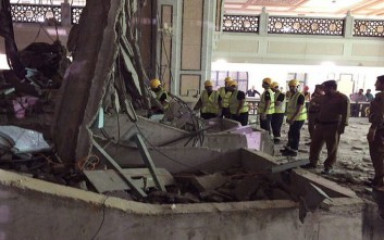 Στους 107 οι νεκροί από την κατάρρευση του γερανού στη Μέκκα