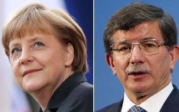 Η γερμανική καγκελαρία διαψεύδει τον Νταβούτογλου