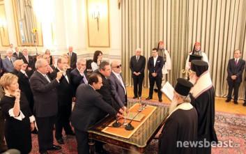 Ποιοι υπουργοί έδωσαν θρησκευτικό όρκο